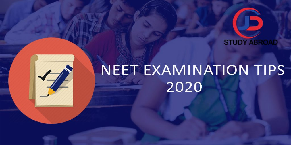 neet exam date and tips